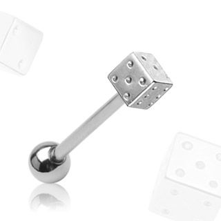 Tappi Barbell 1,6mm - Steel Dice