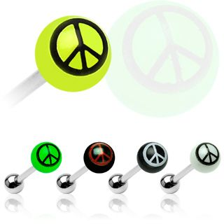 Tappi Barbell 1,6mm - Peace